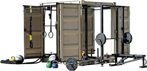 Grupo Contact Gimnasio Completo en contenedor Box Cube Gym Mod. Platino