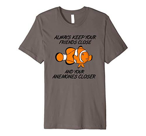 Clown fish Shirt Anemones and clownfish shirt
