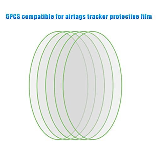 HAOXU 5pcs Autoadesivo Automatico della Pellicola protettivacompatibile per Airtags Tracker