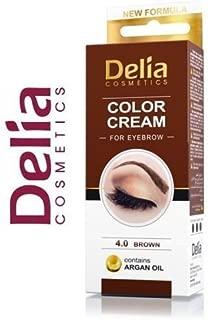 Delia Henna Crema Cejas Pestañas Profesionales En Color Tint Tinte Kit Set Brown