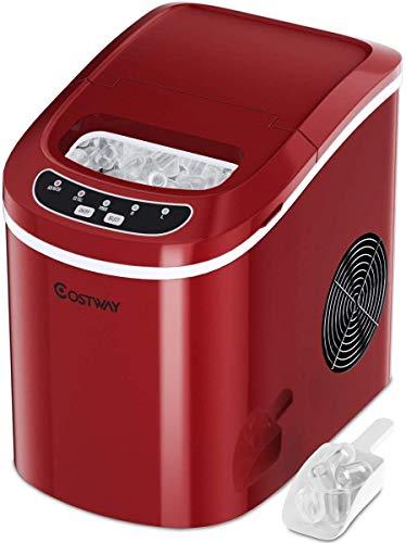 MosaicAL 50KG Commercial Ice Maker Machine Ice Cube Maker Machine Digital Control Refrigeration for Bar Home Supermarkets 50KG