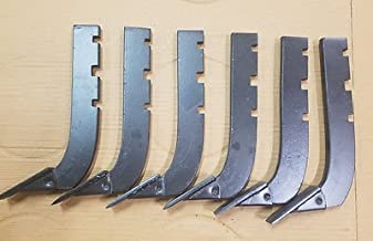 Lot of 6 --Replacement 3-Slot Howse Box Blade Shank 16