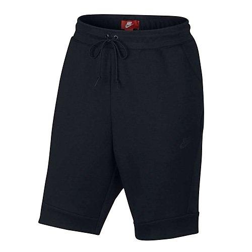 Nike M NSW TCH FLC Pantalon Court pour Homme XL Noir (Noir/Noir/Noir)