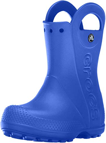 Crocs Handle It Rain Boot (Toddler/Little Kid) Sea Blue 8 Toddler M