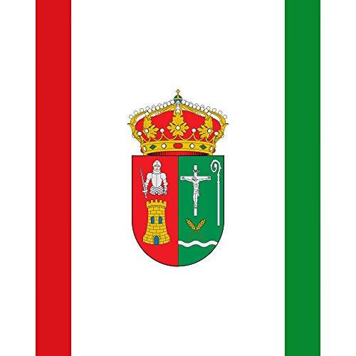 magFlags Bandera Large Utilizada por la diputación de Burgos | 1.35m² | 120x120cm
