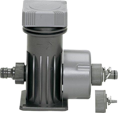 Gardena Micro-Drip-System Basisgerät 2000: Grundgerät zur Druckreduzierung, Wasserdurchfluss ca. 2.000 l/h, ZollQuick & Easy Zoll-Verbindungstechnik (1354-20)