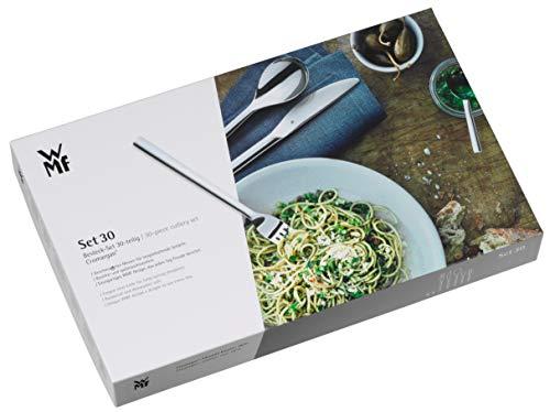WMF Besteckkassette leer für Besteckset 30-teilig, Cromargan Motiv, Karton, 43 x 26,5 cm x 5,5 cm