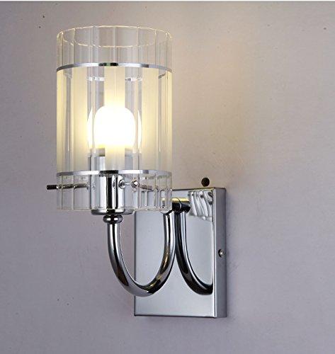 YU-K Chambre à coucher salle de séjour moderne minimaliste, le chef de la glass wall lamp