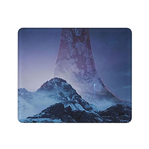 Akeanu Hal-o Infinite Game Square Mouse Pad Mouse Mat Gaming Mouse Pad Mouse Mat for Work, Game, Home,Office Supplies 11.8x9.8x0.12inch