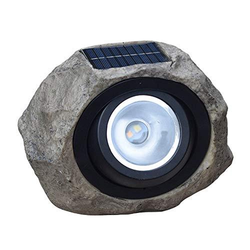 Lámpara de piedra de simulación solar duradera de 8 piezas, impermeable a altas temperaturas y resistente a la corrosión, protección del medio ambiente, uso en salas de conferencias, escenarios