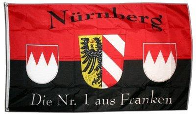 Flagge Fanflagge Nürnberg - 90 x 150 cm