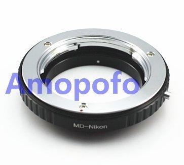 amopofo MD-Nikon adaptador para objetivo Minolta MD a Nikon F Mount cámara SLR D700, D610, D600, D300, D300s, D200, D100, D50, D60, D70, D80, D90