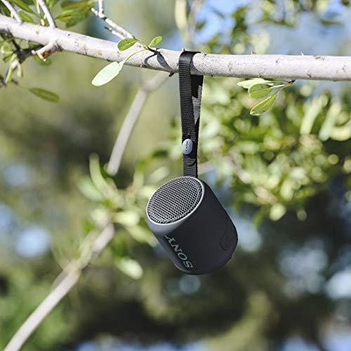 ソニーワイヤレスポータブルスピーカー:防水/防塵/Bluetooth対応/重低音モデル軽量コンパクト2019年モデル/マイク付き/ブラックSRS-XB12B