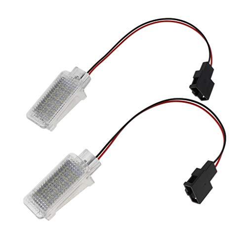 MagiDeal Luz LED Blanca para Compartimento de Equipaje de Carga para Maletero para A1