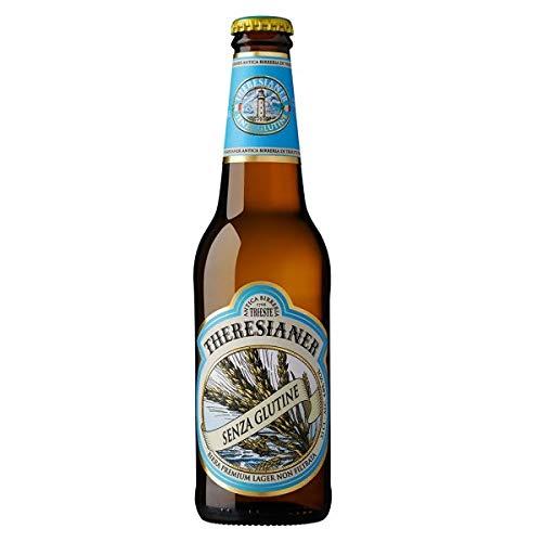 Premium Lager senza glutine Glutenfreies italienisches Bier Theresianer (1 flasche 33 cl.)