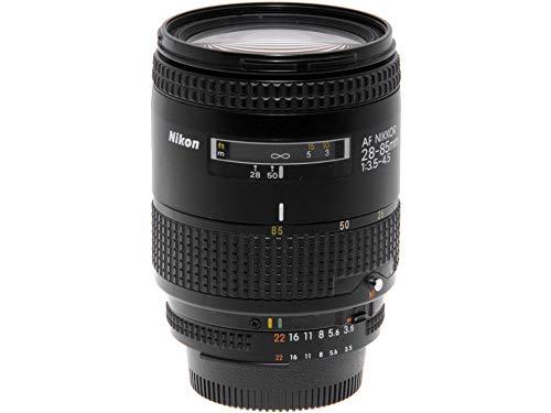 Nikon AF objetivo zoom Nikkor 35/105 mm. F3,5-4,5 Macro. Full Frame.