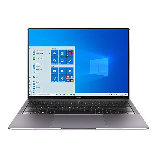 Huawei MateBook X Pro 2020 Laptop, touchscreen FullView Ultrabook da 13.9 Pollici, Intel i5 10210U, 16 GB RAM, 512 GB SSD, NVIDIA GeForce MX250, Huawei Share, Windows 10 Home, Grigio/Verde Smeraldo