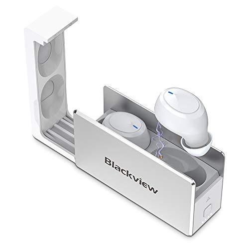Blackview AirBuds 2 Cuffie Bluetooth 5.0 Auricolari Senza Fili TWS Cuffie In-Ear Controllo Touch 25 Ore di Autonomia, Ricarica Rapida USB-C, Microfoni Integrati per iPhone, Samsung, Huawei