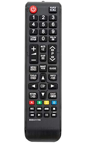 VINABTY BN59-01175N Ersatz Fernbedienung für Samsung TV UE40H6500 UE48H6650 UE40H6700 UE48H6670 UE48H6700 UE55H6700 UE55H6500 UE40H6640 UE32H6400 UE40H6400 UE32H6470 UE55H6400 UE65H6400 UE75H6470