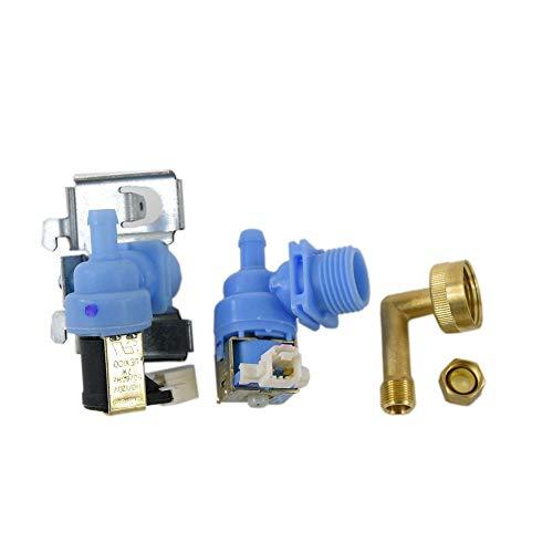 Whirlpool W10648041 Dishwasher Water Inlet Valve Genuine Original Equipment Manufacturer (OEM) Part