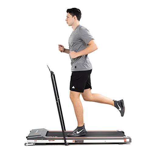 CITYSPORTS Zusammenklappbares Laufband, Büro- / Heimfitness, 1-6 km/h elektrisches Laufband, leicht zu bewegen und lagern, ruhiges und Komfortables Fitnessstudio