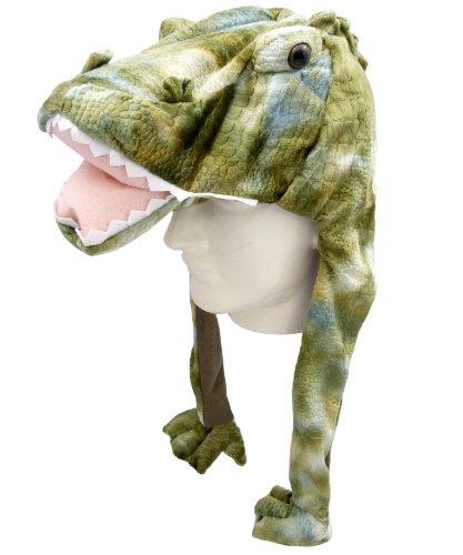 Plüsch Mütze Krokodil