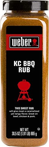 Weber Kansas City KC BBQ Rub 30 5 Ounce product image