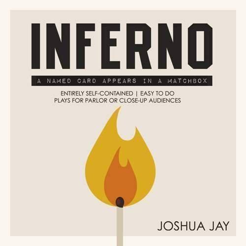 SOLOMAGIA Inferno by Joshua Jay (DVD & Gimmick) - Zaubertricks und Prop