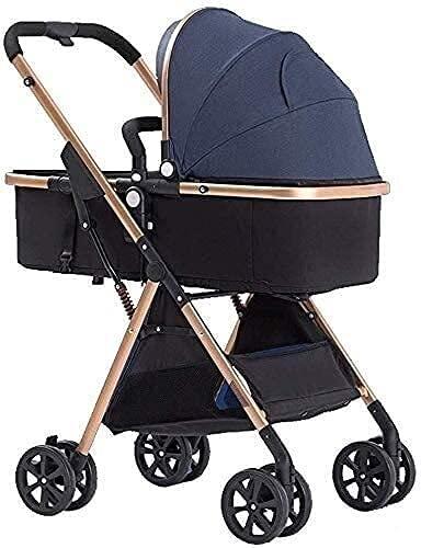 Cochecito de cochecito de cochecito de cochecito de cochecito de cochecito paraguas con cochecito de choque para recién nacidos y bebés plegables (Color : A)