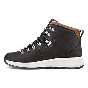 Forsake Thatcher - Women's Waterproof Leather Hiking Boot (8.5 M US, Black)