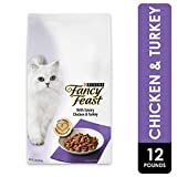 Purina Fancy Feast Dry Cat Food, With Savory Chicken & Turkey - 12 lb. Bag
