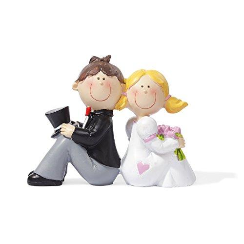 Hochzeitspaar * Brautpaar IV * Tortendekoration * Tortenfigur * Tischdekoration