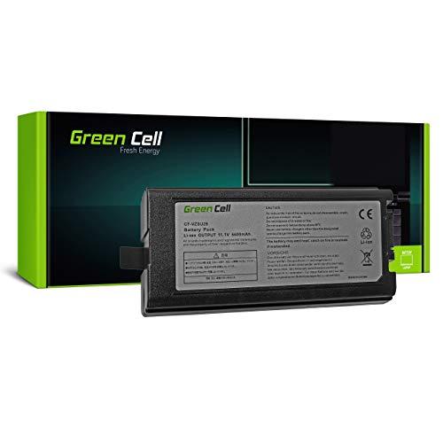 Green Cell Akku für ToughBook CF-52EW1AAS CF-52MW1ADS CF-52MW1APS CF29 CF51 CF52 Laptop (6600mAh 11.1V Schwarz)