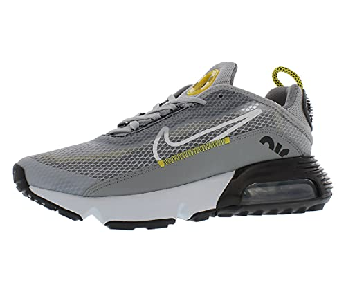 Nike Air Max 2090 (gs) Corriendo Casual Zapatos Grande Niños Cj4066-002, gris