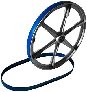 Workmas New Heavy Duty Band Saw Urethane Blue Max Tire Set FOR SHOP KING 7 1/2