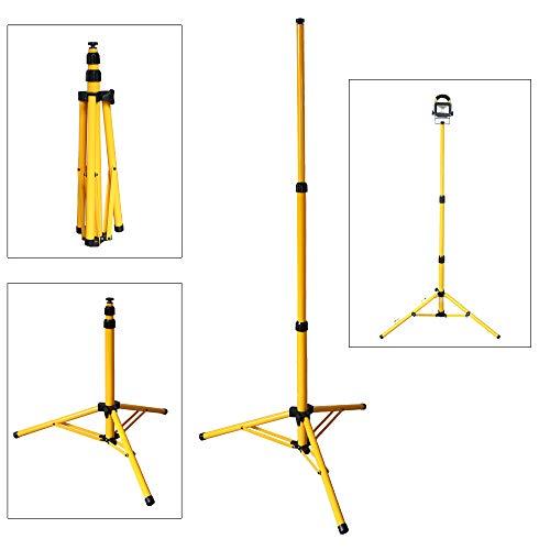 wolketon Teleskop trípode para LED Foco Proyector
