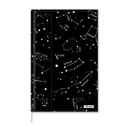 CONSTELLATION - Notizbuch - Notebook - im trendigen Design - aus absolut reissfestem und wasserabweisenden Tyvek® - Made in Germany ILP21765 Größe DIN A5
