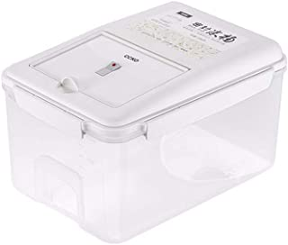 HYRGLIZI Conteneur de Stockage Boîte de Rangement de Riz Domestique Boîte de Rangement Seau entièrement scellé Conteneur d...