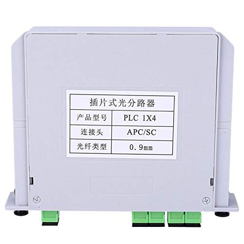 Módulo divisor PLC, divisor óptico de hoja 1X4 Módulo divisor de fibra óptica PLC monomodo SC-APC