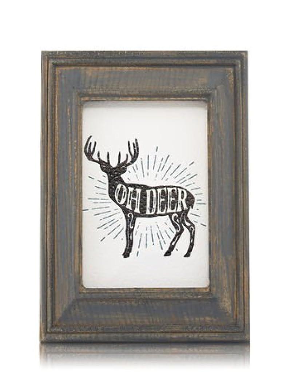 海洋の宣教師味付け【Bath&Body Works/バス&ボディワークス】 ルームフレグランス プラグインスターター (本体のみ) ウッドフレーム トナカイ Wallflowers Fragrance Plug Wooden Oh Deer Frame [並行輸入品]