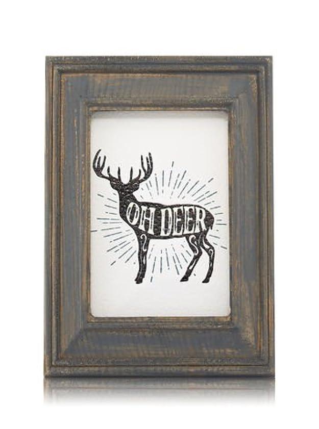 深く格差タンザニア【Bath&Body Works/バス&ボディワークス】 ルームフレグランス プラグインスターター (本体のみ) ウッドフレーム トナカイ Wallflowers Fragrance Plug Wooden Oh Deer Frame [並行輸入品]