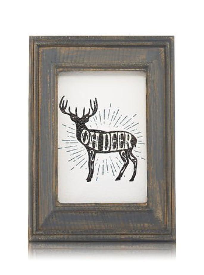 建築荒涼とした岸【Bath&Body Works/バス&ボディワークス】 ルームフレグランス プラグインスターター (本体のみ) ウッドフレーム トナカイ Wallflowers Fragrance Plug Wooden Oh Deer Frame [並行輸入品]