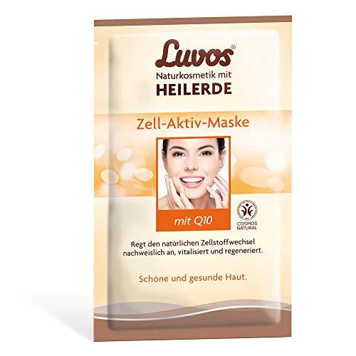 Luvos Crememaske Zell-Aktiv tiefenwirksame Pflege, mit Sofort-Effekt, 2 x 7,5 ml