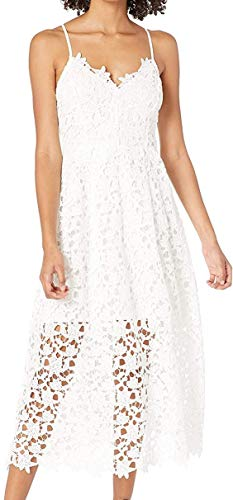 ASTR the label Women's Sleeveless Lace Fit & Flare Midi...
