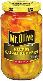 Mt. Olive Sweet Salad Peppers 12 Oz (Pack of 3)