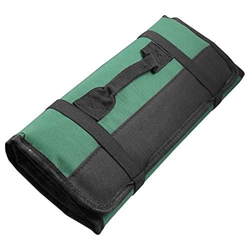 Caja de Herramientas Bolsas de herramientas de rollo plegable, bolsa de almacenamiento de herramientas multifunción Portátil Oxford Toolkit Llaves Llaves Bolsas de almacenamiento Rojo / Azul / Verde /