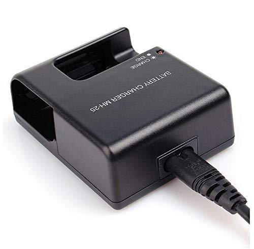 Battery Charger for Nikon EN-EL15 MH-25 MH-25a EN-EL15A D7100 D750 D7000 D7200 D810 D610 D800, D850, D600 D800e D810a 1v1 Camera