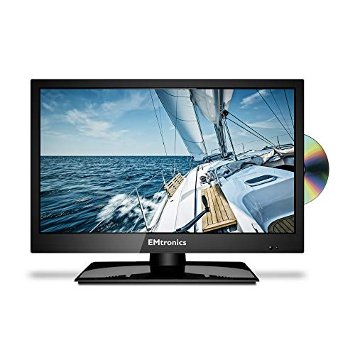 EMtronics 19' Inch HD Ready LED TV with Freeview HD and Built in DVD Pl