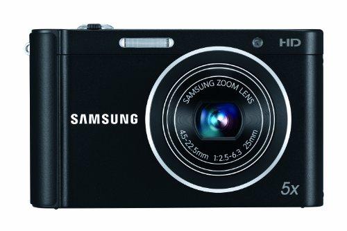 Samsung ST66 Digitalkamera (16 Megapixel, 5-fach opt. Zoom, 6,9 cm (2,7 Zoll) Display, bildstabilisiert) schwarz