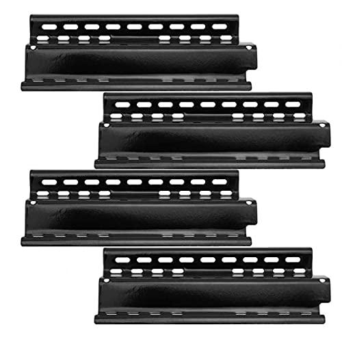 Yililay Placa 4PCS Grill Heat Shield Ajustables Antiadherente de Calor Piezas de Repuesto Carpa para Gas Grill